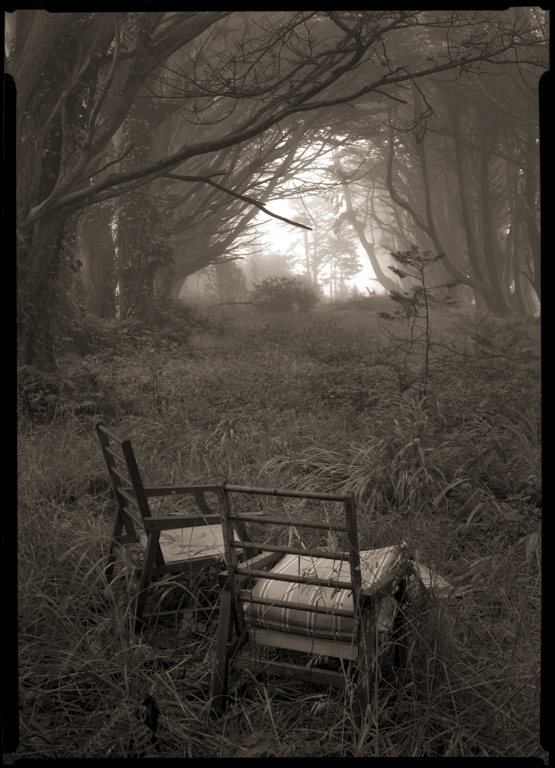 Abandoned Chairs, Skyline Drive, 2010