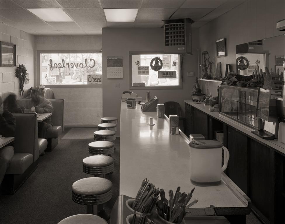Cloverleaf Cafe, Rawlins, 2014