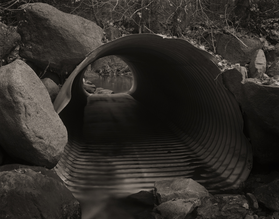 Culvert, Lee Vining Creek, 2015