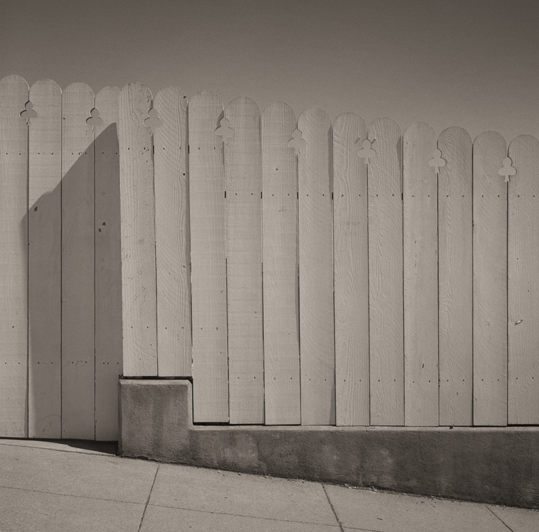 Fence, Bernal Heights, 2014