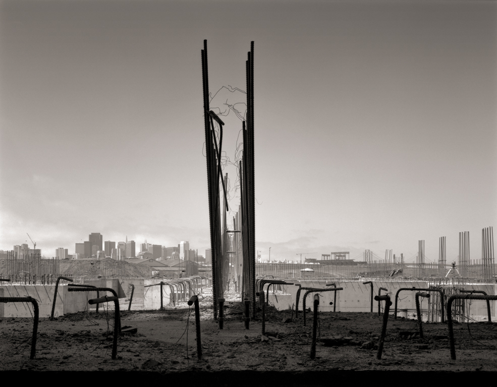 Foundations and Downtown Skyline, Mission Bay, 2000