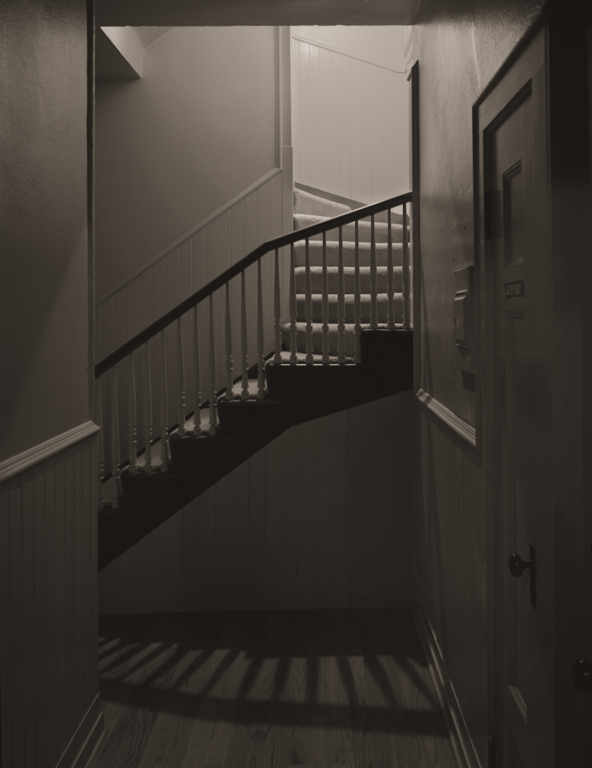 Inside Stairs, Mansion A, Mare Island, 2012