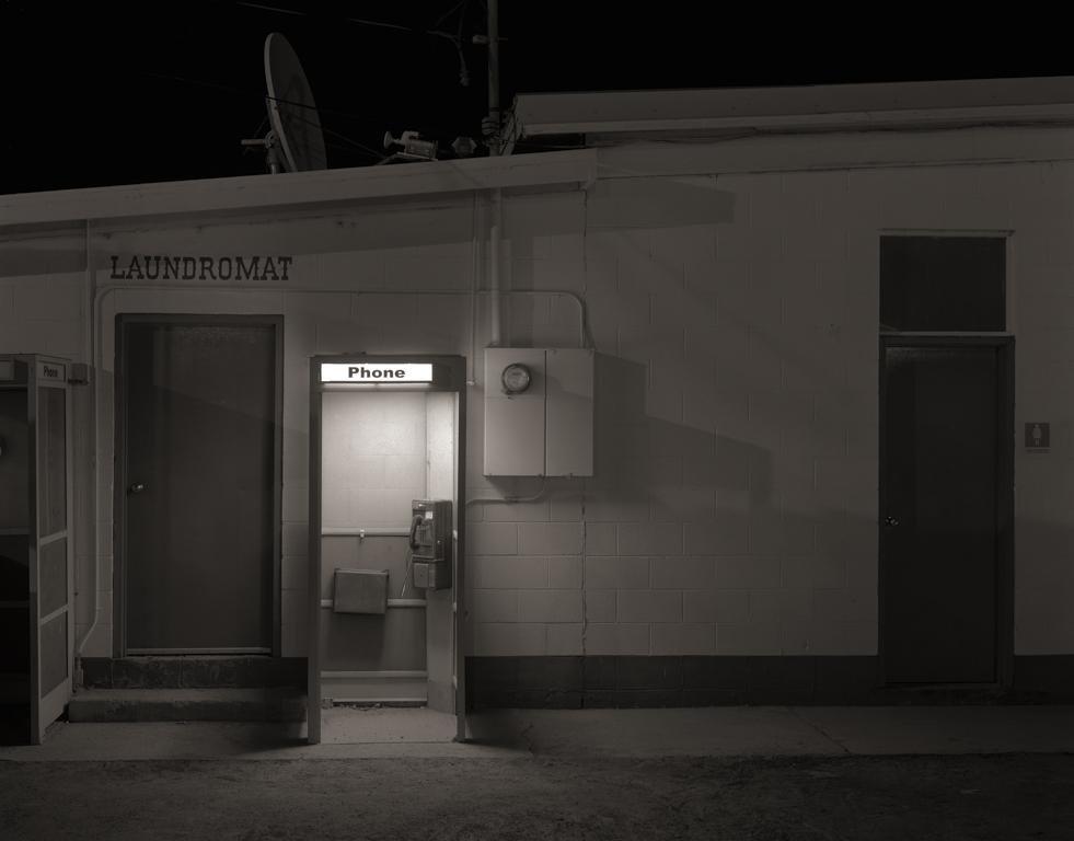 Phone Booth, Gerlach, 2015