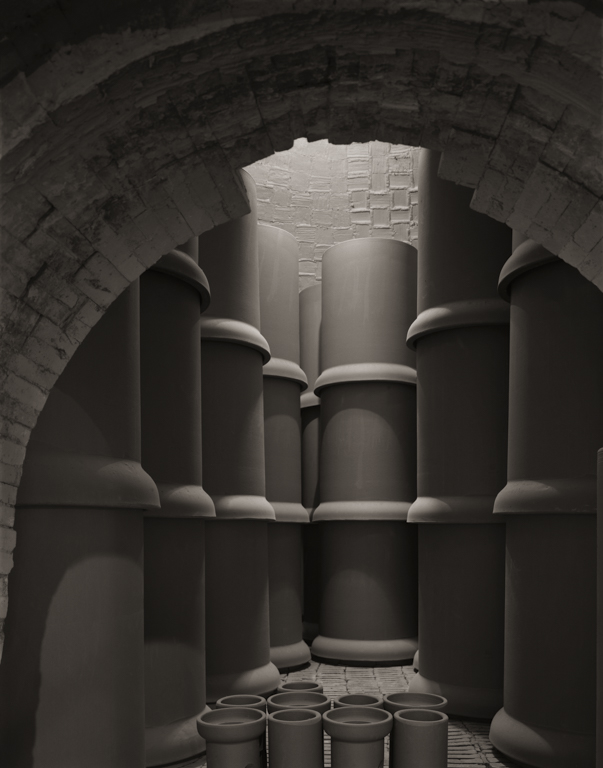 Pipes In Kiln, Gladding McBean, 2011