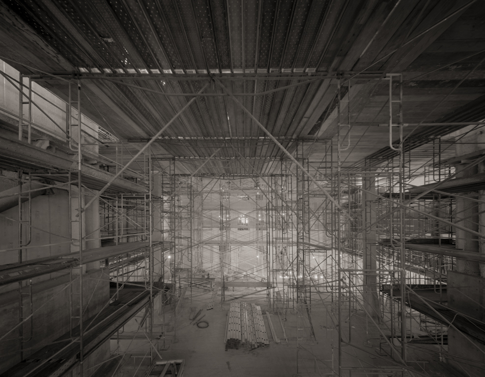 Scaffolding, State Office Bldg, 1998