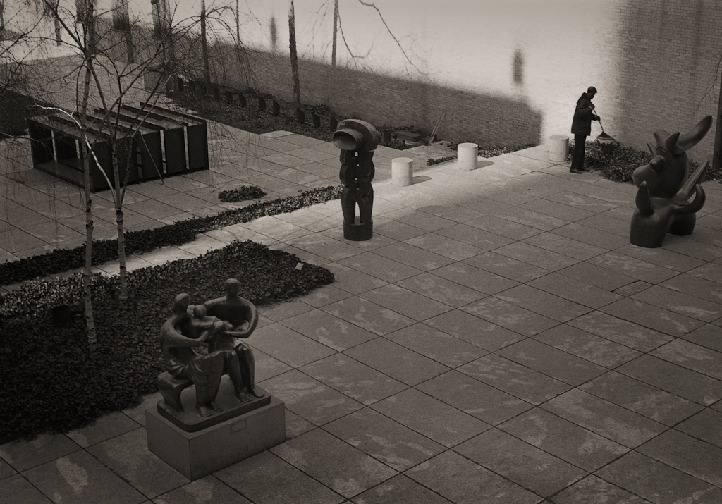 Sculpture Court, Museum of Modern Art, 1971