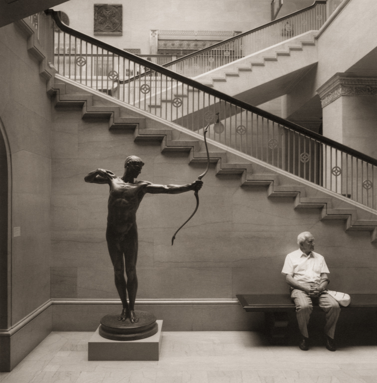 Waiting Man #1, Art Intitute of Chicago, 2001