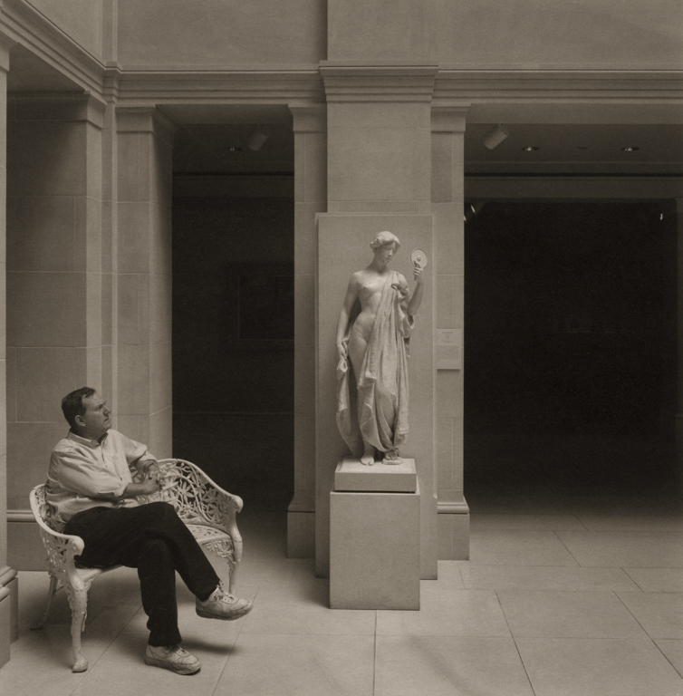 Waiting Man #2, Art Intitute of Chicago, 2001